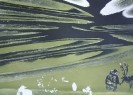 Петров-Камчатский В.Н. Дыхание природы. Правая часть триптиха. 1989. Бумага, цветная литография. 53х73. КП-1047, Г-693