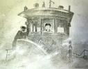 Ветрогонский В. А. Первый рейс. 1983. Бумага, литография. 50х64. Г-381, КП-735