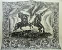 Шитиков Е.П. Куликовская битва. Поединок. 1980. Картон, линогравюра. 67х79. КП-1102, Г-749