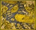 Максимов А.Д. Первая навигация на Гжати. 1983. Бумага, цветная автолитография. 59х71. КП-934, Г-580