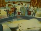 Лусегенов О.М. Белый. 1983. Бумага, цветная автолитография. 40х52. КП-918, Г-564