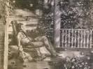 Г-479 КП-833 Данилов А. В.  В Михайловском. Из серии Пушкин в Михайловском. 1985. Бумага, цветная литография. 47,3х61,3