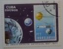 Коллекция марок Кубы. Звёздное небо. Марка СФРЮ.20 лет запуску искусственного спутника Земли 1957-1977.Бумага, цветная печать. 4х5. Ф-1350 КП-4090_1